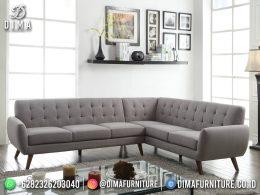Best Seller Desain Sofa Tamu Minimalis Jepara Elegant Classic BT-1057