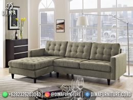 Best Seller Desain Sofa Tamu Minimalis Jepara Elegant Style Artichoke Green BT-1055