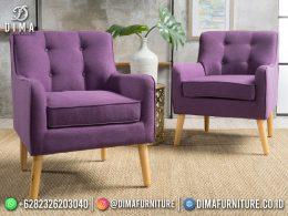 Best Seller Desain Sofa Tamu Minimalis Jepara Tuksedo 1 Seater BT-1116