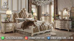 Best Seller Desain Tempat Tidur Mewah Jepara Baroque Classic Style BT-1137