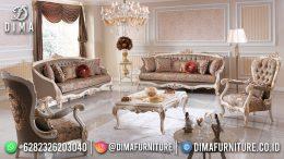 Best Seller Desain Sofa Tamu Mewah Jepara Luxury Carving Duco Color BT-1030
