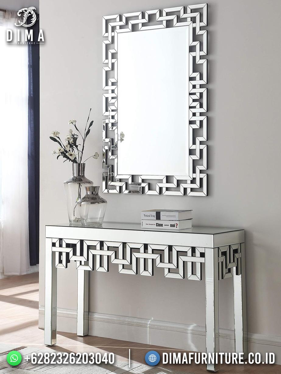 Inspired Desain Meja Konsol Minimalis Jepara Labyrinth Style BT-1065