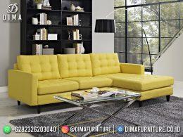 Inspired Desain Set Sofa Tamu Minimalis Jepara Elegant Yellow Color BT-1065