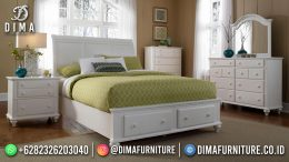 Jual Kamar Set Minimalis Jepara Drawer Model Duco Color BT-1160