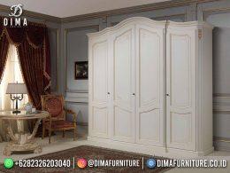 Jual Lemari Pakaian Minimalis Jepara 4 Pintu Elegant Style Duco Color BT-1186
