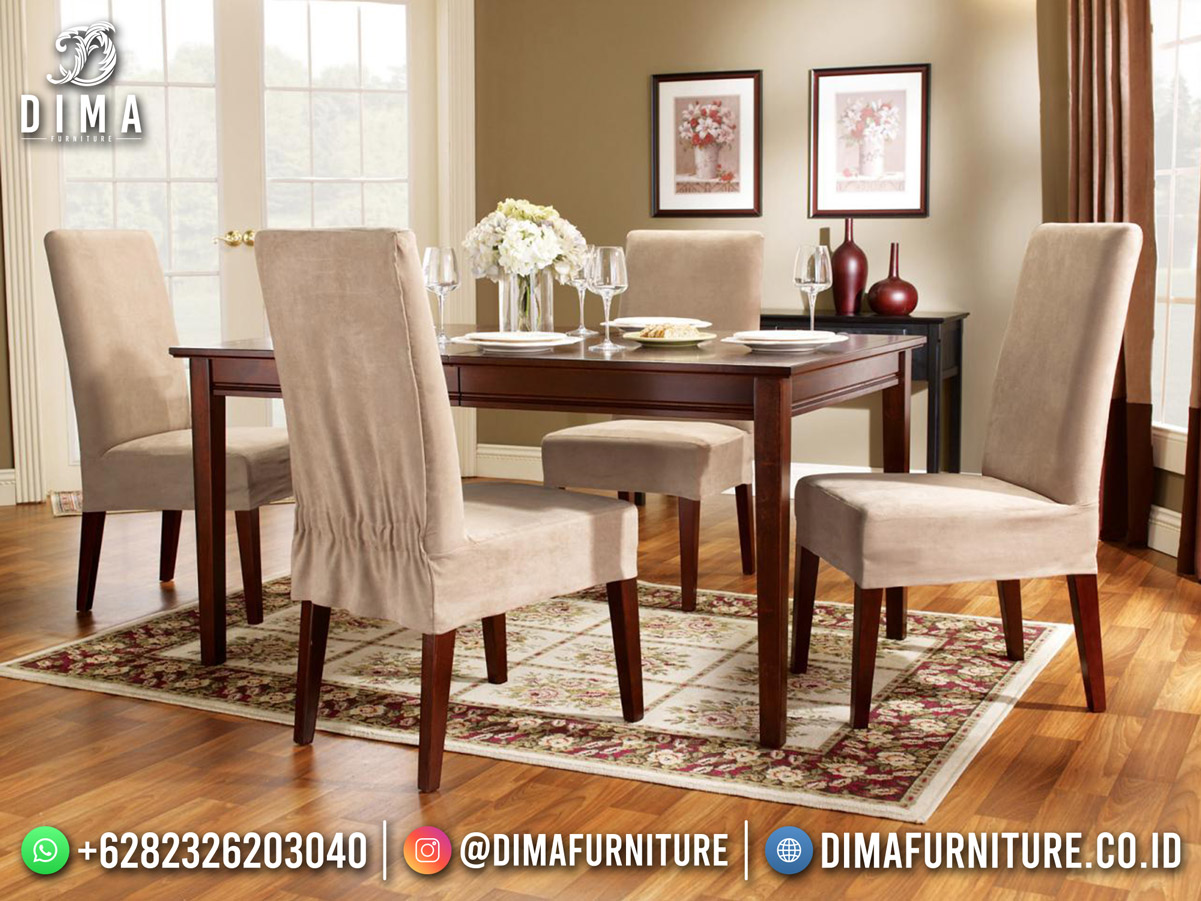 Best Seller Meja Makan Minimalis Luxury Modern Furniture Jepara BT-1237