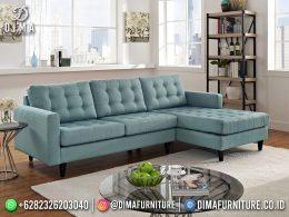 Blue Wardah Kursi Tamu Terbaru Minimalis Top Quality BT-1247