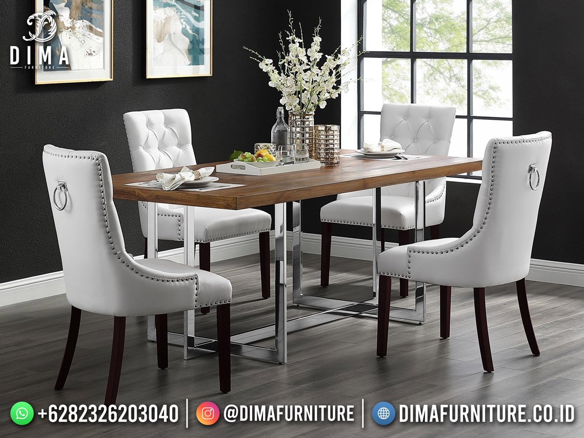 Hilarious Style Meja Makan Minimalis Terbaru Furniture Jepara Luxury Classic BT-1232
