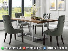 Meja Makan Minimalis Terbaru Elegant Classic High Quality BT-1238
