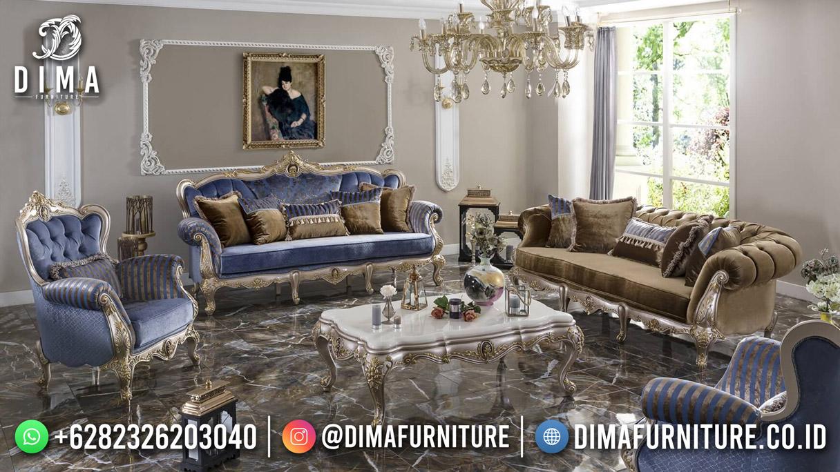 Beauty Blue Kursi Tamu Terbaru Jepara Best Product Furniture Jepara BT-1253
