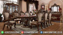 Model Meja Makan Minimalis Mewah Jati Terbaru High Quality Wood BT-1251