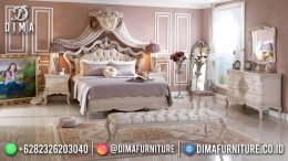 Queen Bed Kamar Set Terbaru Tempat Tidur Mewah Best Quality BT-1257